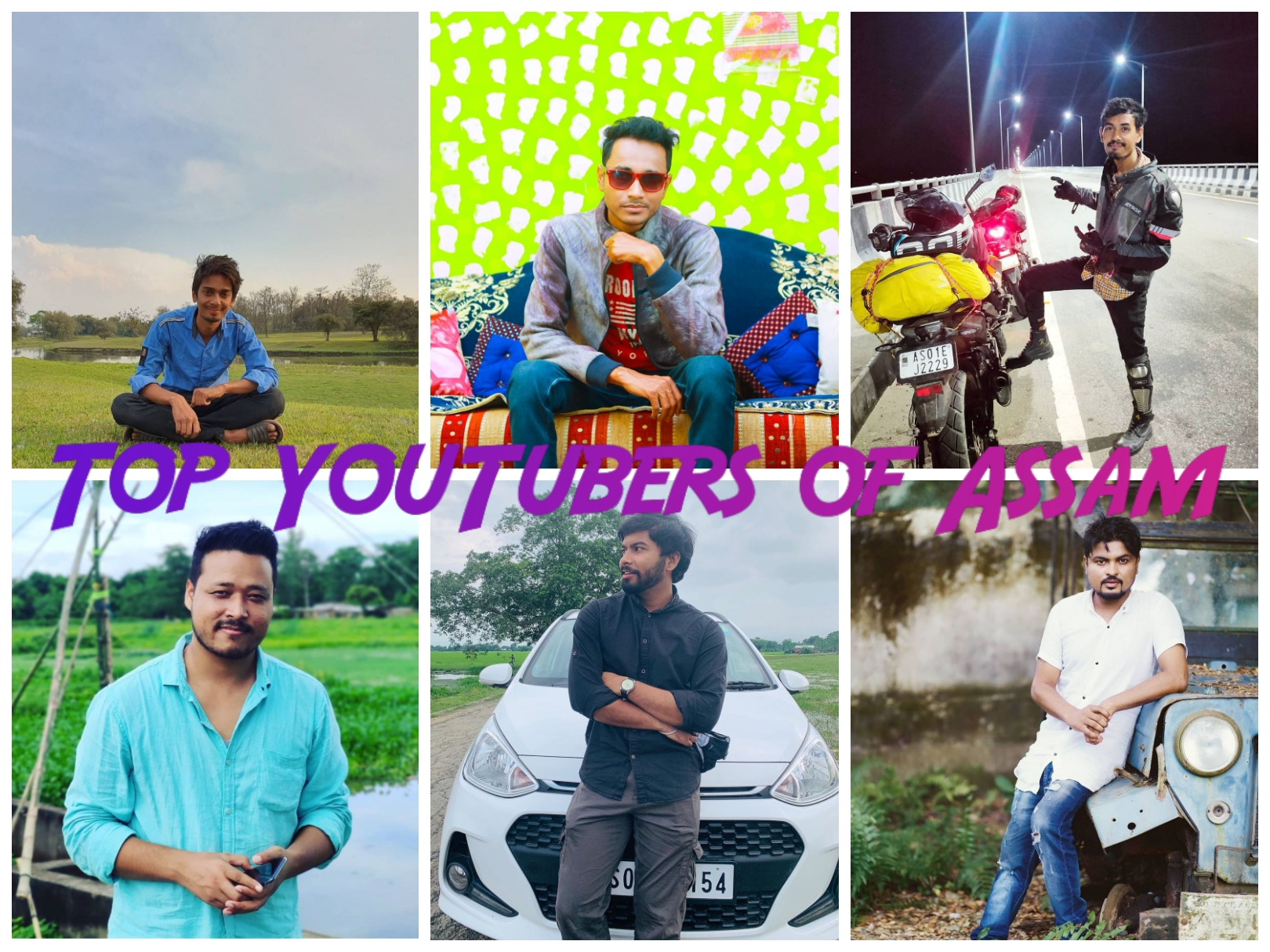 Top YouTubers of Assam- Fun, Food, Knowledge and More