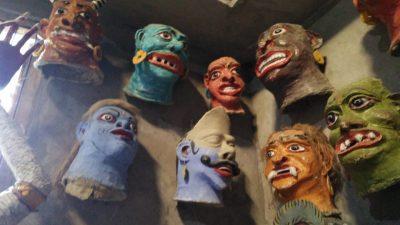 Assam handicraft and Mask making in Majuli Assam
