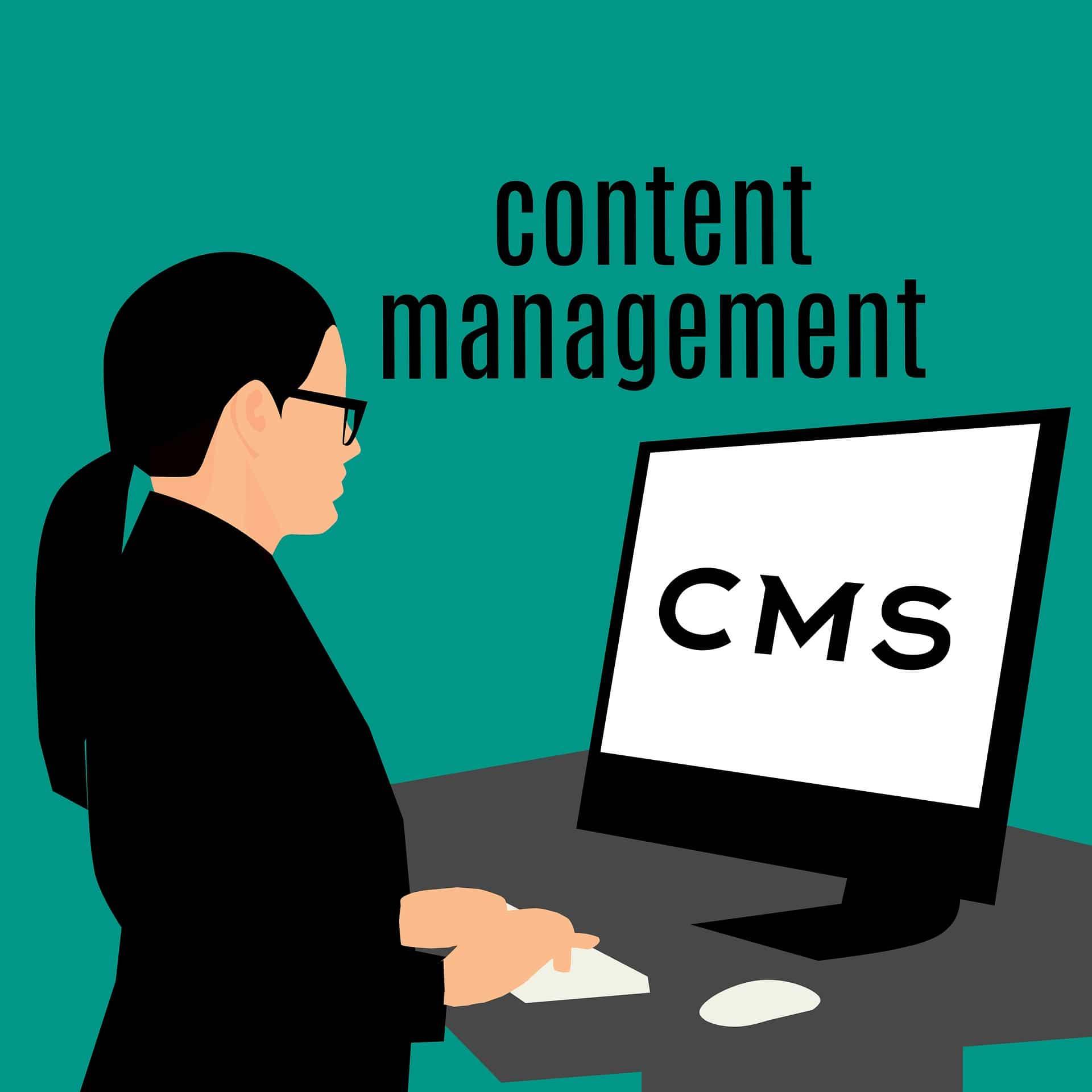 TOP 5 CMS-Content Management System